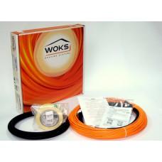 Двухжильный кабель Woks  990 Вт. ( 6,1 м.кв )